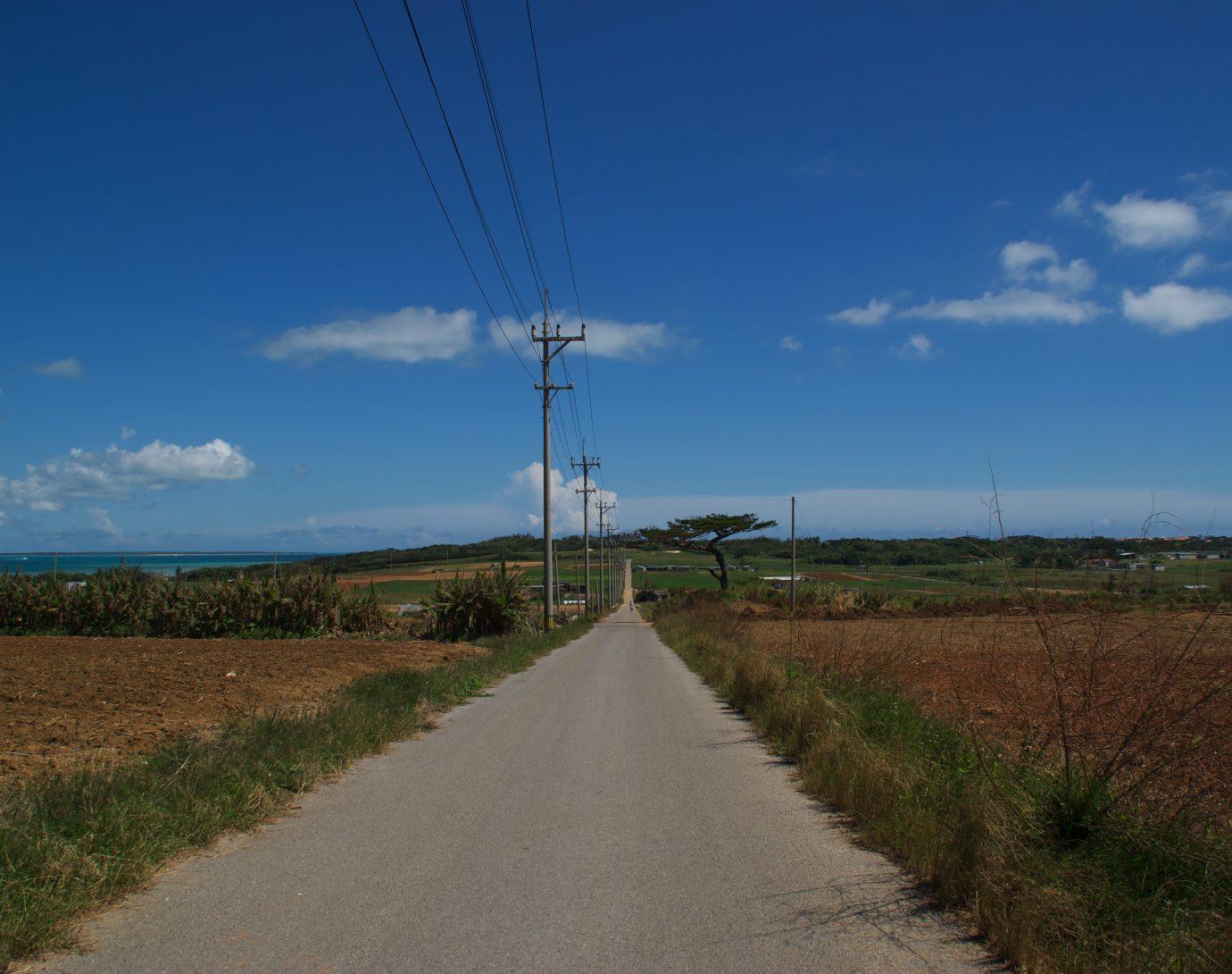 小浜島 開放感溢れる青い海と青い空。そして澄んだ空気がゆるりと流れる小浜島。