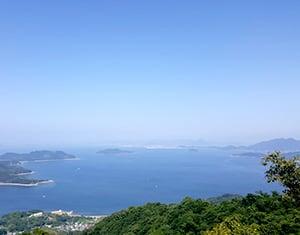 大三島沖・詫間湾沖錨泊3日間